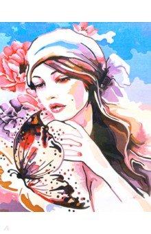 "Рисование по дереву ""Нежность бабочки"", 40х50 см (FLA049) ()"