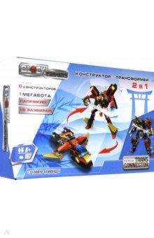Купить Конструктор Blockformers Мегасамурай (Т18969), 1TOY, Роботы и трансформеры