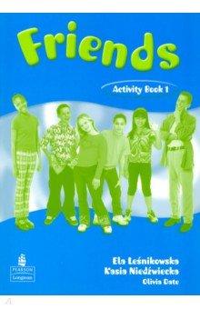 Купить Friends. Level 1. Activity Book, Pearson, Изучение иностранного языка