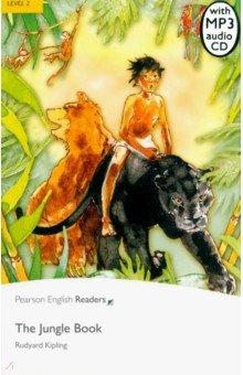 Купить The Jungle (+CD), Pearson, Художественная литература для детей на англ.яз.