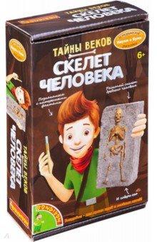 Купить Исторические раскопки Тайны веков. Скелет человека (ВВ4790), Bondibon, Наборы для опытов