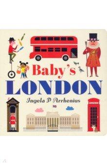Купить Baby's London, Walker Books, Первые книги малыша на английском языке