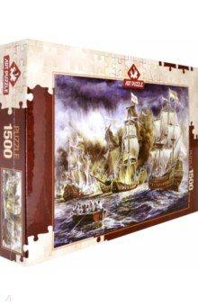 Купить Пазл-1500 Морское сражение (4549), Art Puzzle, Пазлы (1500 элементов)