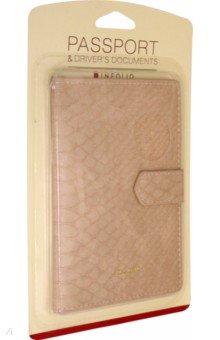 Обложка для паспорта Animalistic (IPC052/pink)