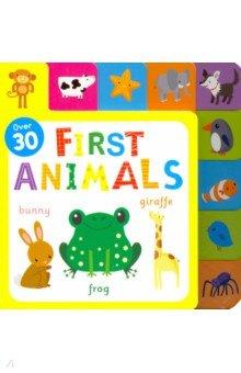 Купить First Animals, Igloo Books, Первые книги малыша на английском языке