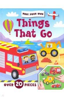 Купить Make Your Own. Things That Go, Igloo Books, Первые книги малыша на английском языке