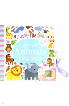 Купить My First Animals Play Book, Igloo Books, Первые книги малыша на английском языке
