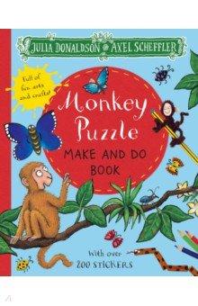 Купить Monkey Puzzle Make and Do Book, Mac Children Books, Книги для детского досуга на английском языке