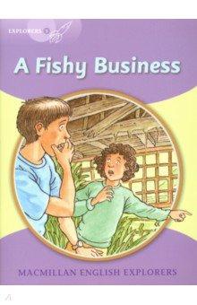 Купить Fishy Business Reader, Macmillan, Художественная литература для детей на англ.яз.