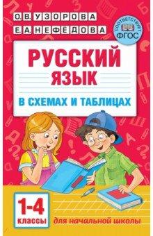 Русский язык. 1-4 классы. В схемах и таблицах ()
