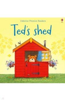 Купить Ted's Shed, Usborne, Художественная литература для детей на англ.яз.