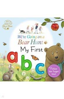 Купить We're Going on a Bear Hunt. My First ABC, Walker Books, Первые книги малыша на английском языке