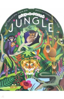 Купить Play-a-Round. Jungle, Igloo Books, Первые книги малыша на английском языке