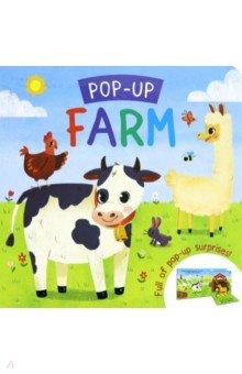 Купить Pop-up. Farm, Igloo Books, Первые книги малыша на английском языке