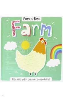 Купить Pops for Tots. Farm, Igloo Books, Первые книги малыша на английском языке