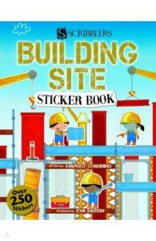 Scribblers Fun Activity. Building Site. Sticker Book, Salariya, Книги для детского досуга на английском языке  - купить со скидкой