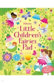 Купить Little Children's Fairies Pad, Usborne, Книги для детского досуга на английском языке