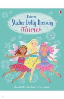 Купить Sticker Dolly Dressing. Fairies, Usborne, Книги для детского досуга на английском языке