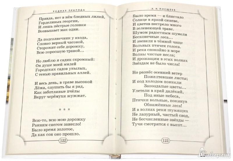 Иллюстрация 1 из 8 для Родная природа: Стихотворения русских поэтов | Лабиринт - книги. Источник: Лабиринт