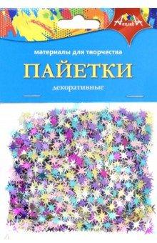 Купить Декоративные пайетки Звездочки (С3573-01), АппликА, Сопутствующие товары для детского творчества