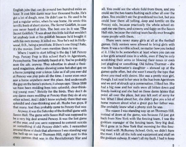 Иллюстрация 1 из 7 для The Catcher in the Rye - Jerome Salinger | Лабиринт - книги. Источник: Лабиринт