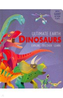 Купить Dinosaurs, Little Tiger Press, Первые книги малыша на английском языке