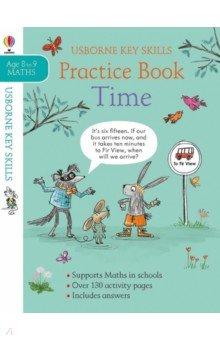 Купить Time Practice Book, Usborne, Книги для детского досуга на английском языке