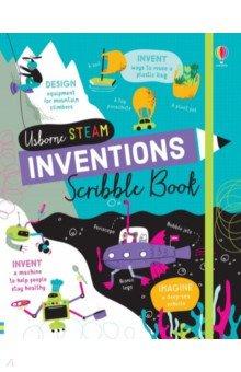 Купить Inventions Scribble Book, Usborne, Книги для детского досуга на английском языке