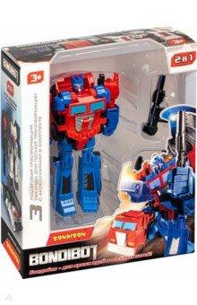 Купить Трансформер 2в1 Робот-грузовой автомобиль (ВВ4941), Bondibon, Роботы и трансформеры