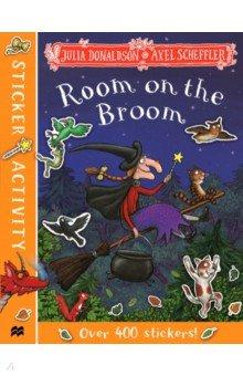 Купить Room on the Broom Sticker Book, Mac Children Books, Книги для детского досуга на английском языке
