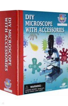 Купить Набор для опытов Собери микроскоп (36022), Junfa, Оптические игрушки