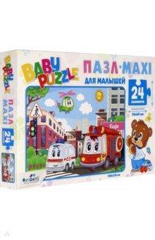Купить Baby Puzzle. Пазл-24. Город (05774), Оригами, Пазлы (12-50 элементов)