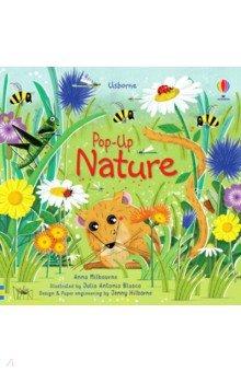 Купить Pop-Up Nature, Usborne, Первые книги малыша на английском языке