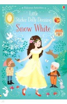Купить Little Sticker Dolly Dressing. Snow White, Usborne, Книги для детского досуга на английском языке