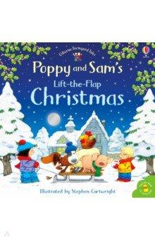 Купить Poppy and Sam's Lift-the-Flap Christmas, Usborne, Первые книги малыша на английском языке