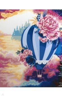Купить Рисование по номерам Воздушный шар , 40х50 см (R005), Русская живопись, Создаем и раскрашиваем картину