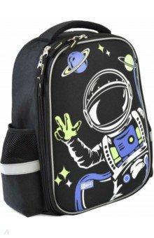 Купить Ранец школьный 37х29х14 см Космонавт (51179), Феникс+, Ранцы и рюкзаки для начальной школы
