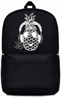 Купить Рюкзак Веселый ананас (42х32х15 см, 1 отделение) (49608), Феникс+, Рюкзаки школьные