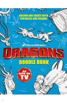 Купить Dragons. Doodle Book (How to Train Your Dragon), Hodder, Книги для детского досуга на английском языке