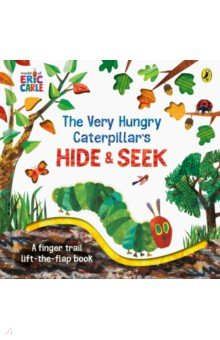 Купить The Very Hungry Caterpillar's Hide-and-Seek, Puffin, Первые книги малыша на английском языке