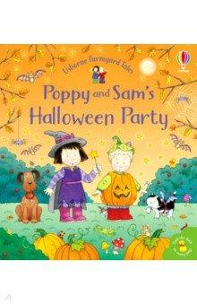 Купить Poppy and Sam's Halloween Party, Usborne, Первые книги малыша на английском языке