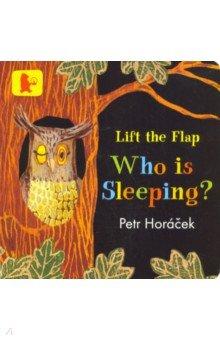 Купить Who Is Sleeping?, Walker Books, Первые книги малыша на английском языке