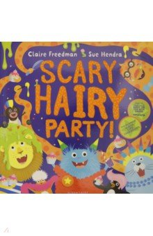 Купить Scary Hairy Party, Bloomsbury, Художественная литература для детей на англ.яз.