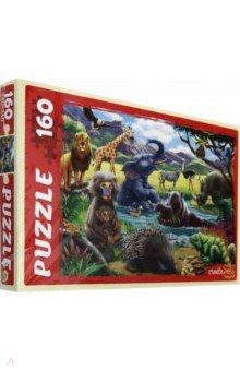 Купить Puzzle-160 Животный мир №3 (ФП160-2965), Рыжий Кот, Пазлы (100-199 элементов)