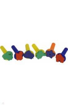 Купить Набор штампов из EVA, 6 штук (M-9955), MAZARI, Сопутствующие товары для детского творчества