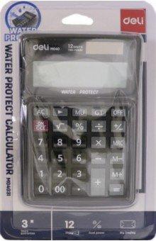 Калькулятор настольный 12-разрядный черный (EM04031)