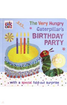 Купить The Very Hungry Caterpillar's Birthday Party, Puffin, Первые книги малыша на английском языке