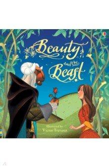 Купить Beauty and the Beast, Usborne, Художественная литература для детей на англ.яз.