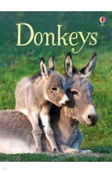 Купить Donkeys, Usborne, Первые книги малыша на английском языке