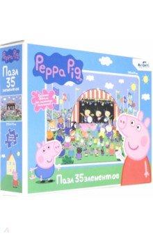 Купить Свинка Пеппа. Пазл-35 гигантский Большой концерт (05843), Оригами, Пазлы (12-50 элементов)